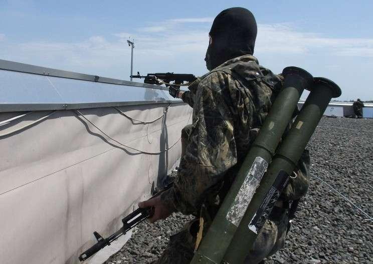 Ополченцы ДНР сбили бомбардировщик Су-24 ВС Украины в районе Горловки