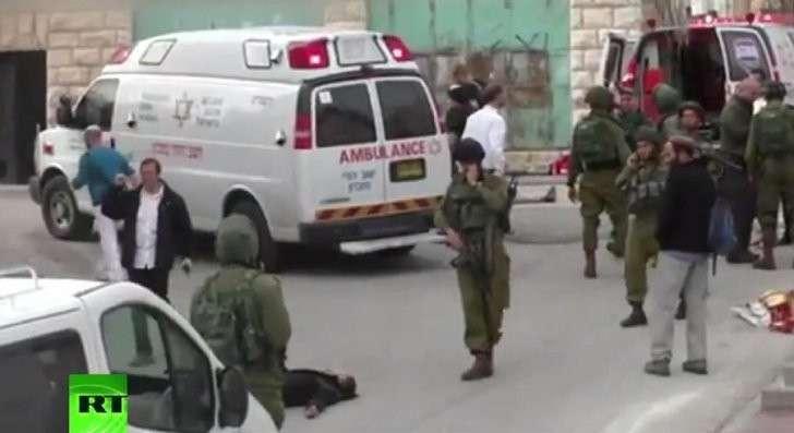 Убийство безоружного палестинца солдатом ЦАХАЛ соответствует политике Израиля