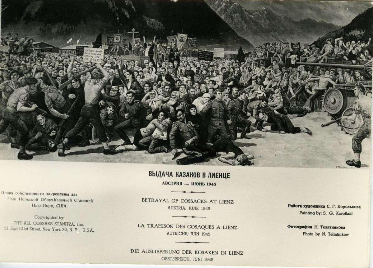 Почему казаки во 2й мировой войне воевали на стороне немецкого вермахта?