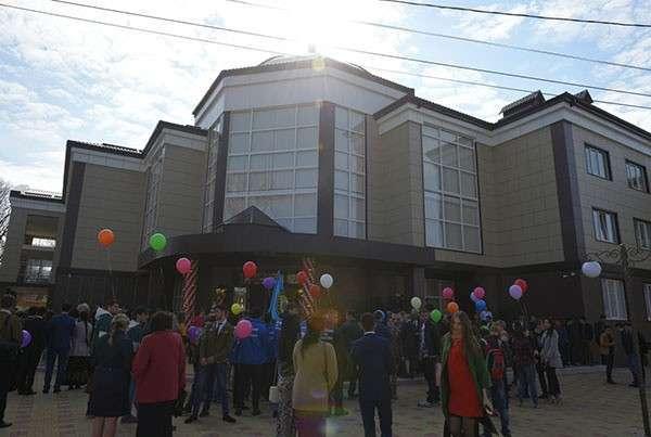 В Адыгее открыто новое общежитие Майкопского государственного технологического университета