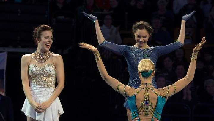 Золотой дебют Евгении Медведевой: фигуристка стала лучшей на чемпионате мира