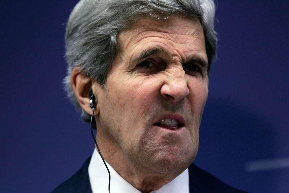 Похоже, у Джона Керри начинается истерика