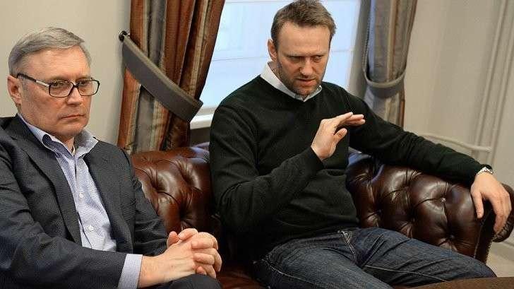 Касьянов и Навальный