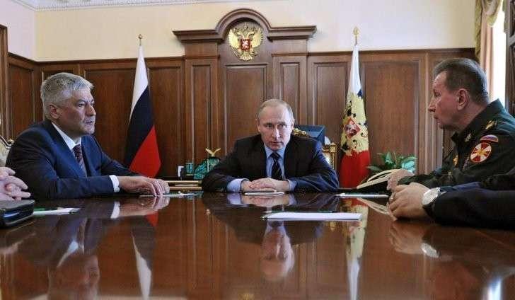 Владимир Путин сегодня реформировал МВД