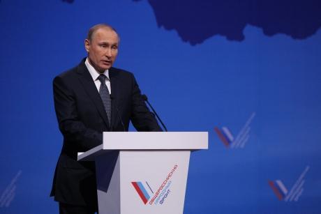 Владимир Путин примет участие в медиафоруме ОНФ в Петербурге