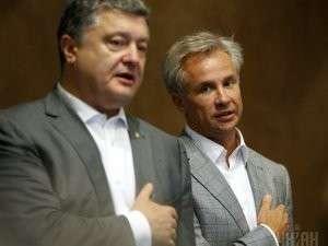 П.Порошенко и Ю.Косюк