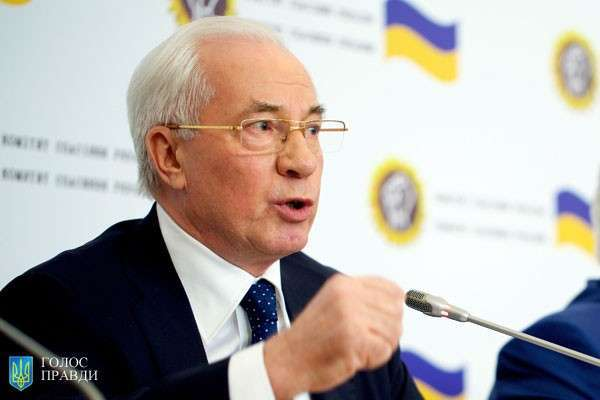 Николай Азаров: более 86% украинцев не доверяют власти