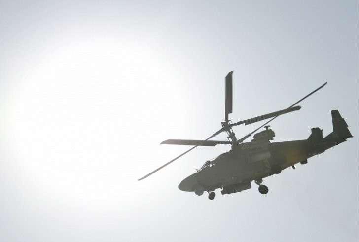 Вертолеты Ка-52 впервые применены в Сирии