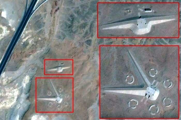 На спутниковых снимках Египта нашли загадочные сооружения