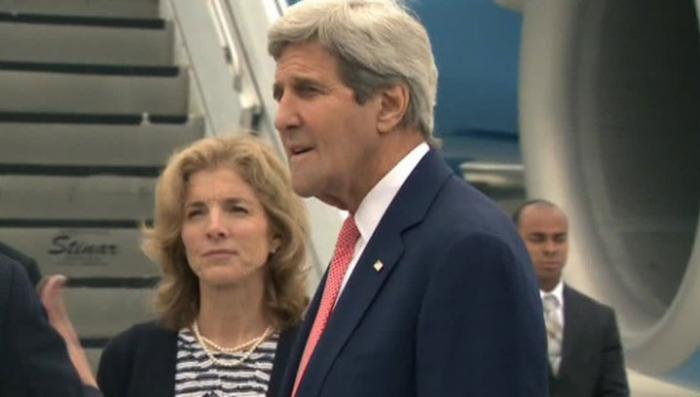 Госсекретарь США впервые посетил Хиросиму