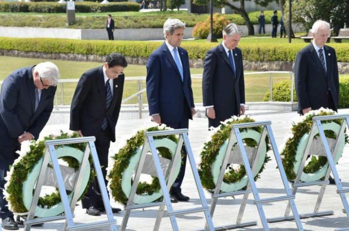 Госсек США не собирается извиняться за Хиросиму и Нагасаки. А кто?