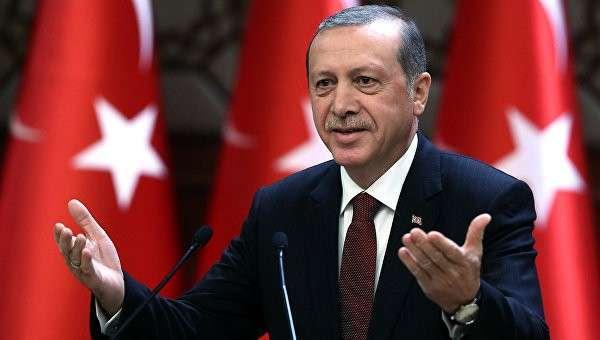 Президент Турции Тайип Эрдоган . Архивное фото