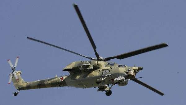 Боевой вертолет нового поколения Ми-28Н. Архивное фото