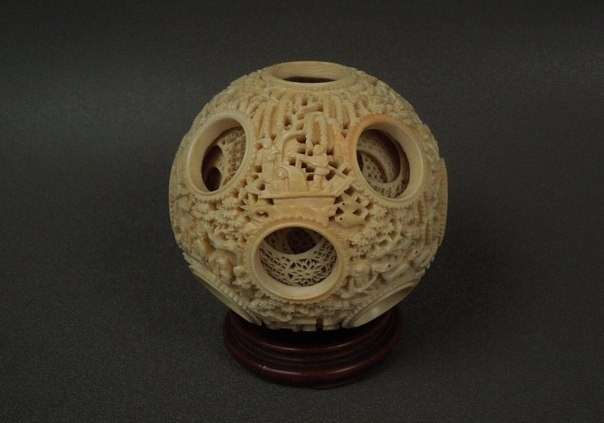 Чем для нас интересны древние китайские шары-головоломки, вложенные друг в друга