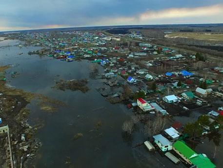 Полтысячи домов ушли под воду в Тюменской области