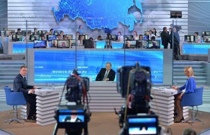 Как сегодня проходила «Прямая линия с Владимиром Путиным»