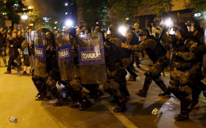 Беспорядки в Македонии спровоцированы США и ЕС
