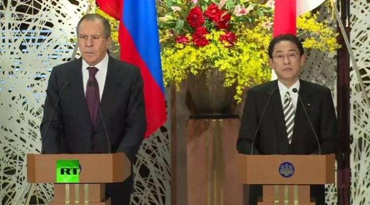 Пресс-конференция Сергея Лаврова и главы МИД Японии — прямая трансляция