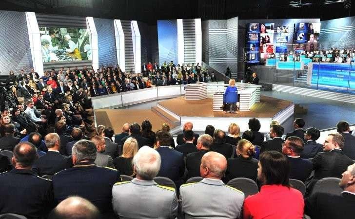 «Прямая линия сВладимиром Путиным».
