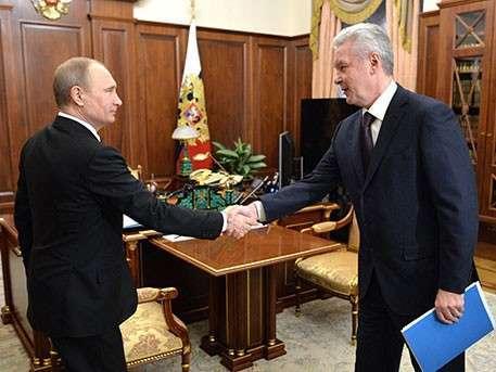 Владимир Путин и Сергей Собянин обсудили вопросы развития российской столицы