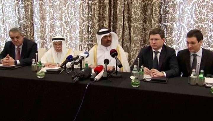 Вместо переговоров по нефти делегаты отправились к эмиру Катара