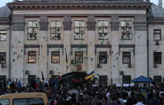 Лавров о шабаше в Киеве: «Выявить и наказать виновных, возместить причиненный серьезный ущерб»