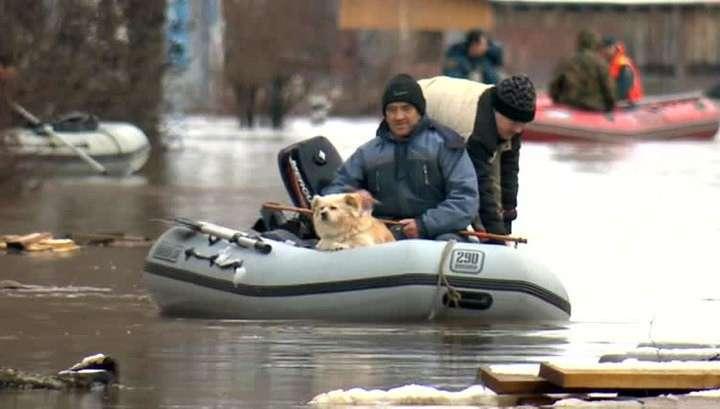 Большая вода в Великом Устюге: затопило четыре тысячи домов