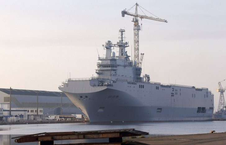 Египетские военные попросили у России радиоэлектронное оборудование для «Мистралей»