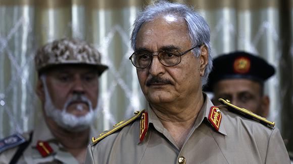 Главнокомандующий ливийской армией едет в Москву просить поддержки