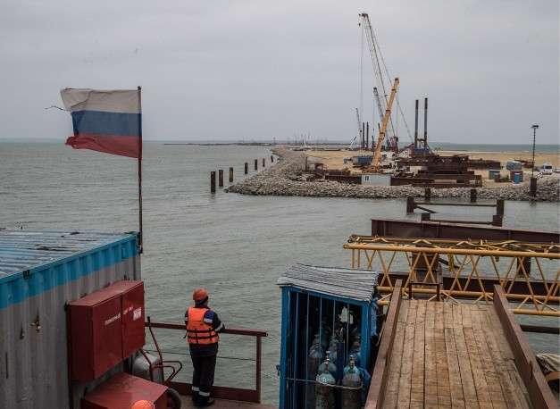«Качественно и в срок»: как идёт строительство Керченского моста (ФОТО)