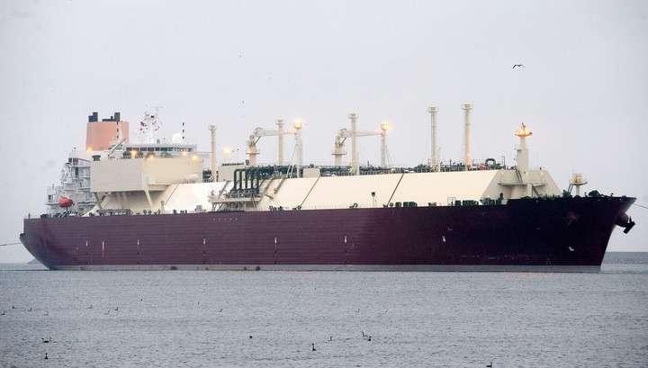 Первый танкер с американским сжиженным газом отправился в Европу