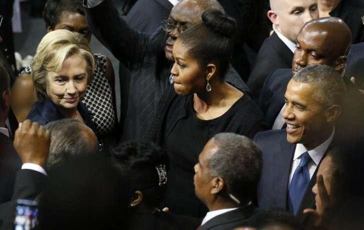 Отношения Мишель Обамы и Хиллари Клинтон остаются загадкой