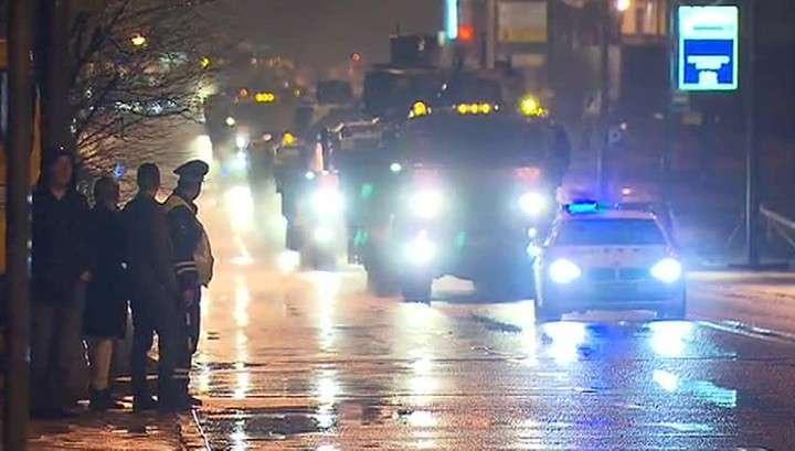По ночной Москве прошли танки: в столице начинаются репетиции Парада Победы