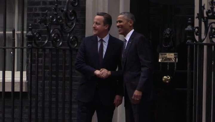 Обама «дружески предупредил», что Британии лучше остаться в ЕС