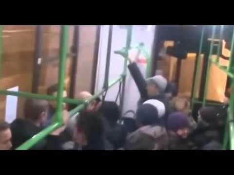 «Гои! Гои! Я вас всех порву...» - крик дикого животного в киевском автобусе