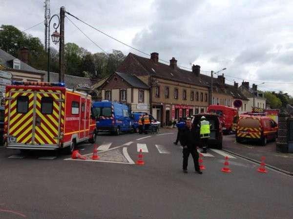 На севере Франции в жилом доме прогремел сильный взрыв