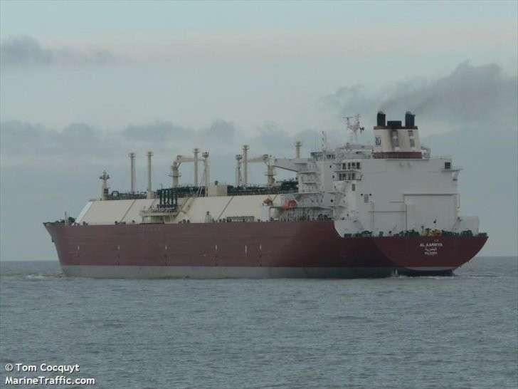 Расследование вброса про американский газовоз в Европе
