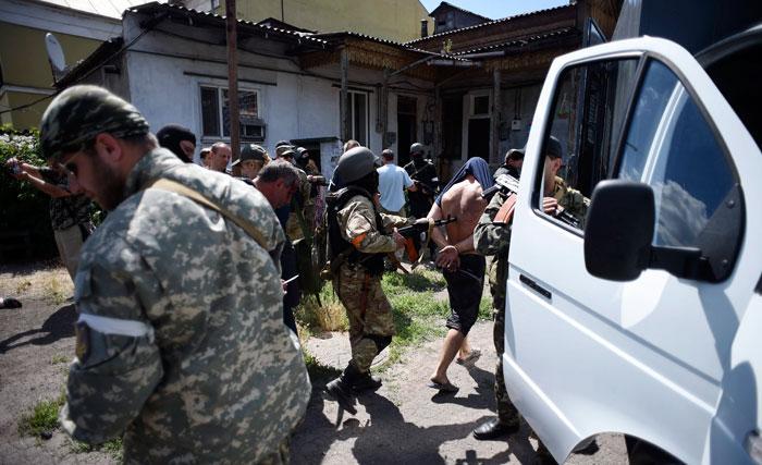 Батальон «Крым» бьёт в барабаны
