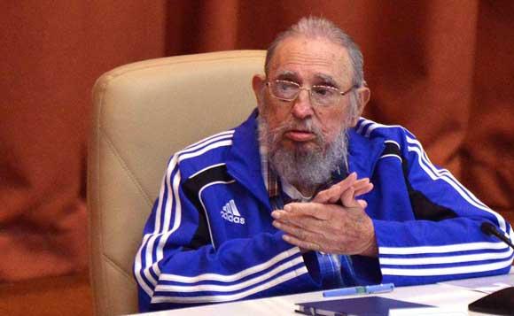 Выступление Фиделя Кастро Рус на VII съезде Компартии Кубы