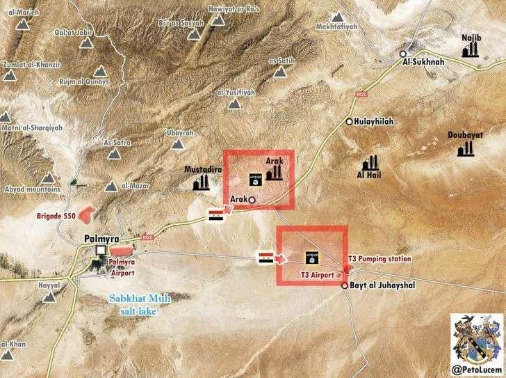 Обстановка на фронтах Сирии и наши Ми-28 за работой