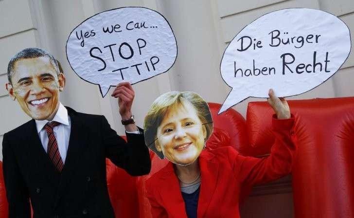 Трансатлантическое партнёрство ставит под удар будущее европейцев
