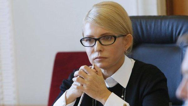 Юлия Тимошенко расчищает себе путь наверх