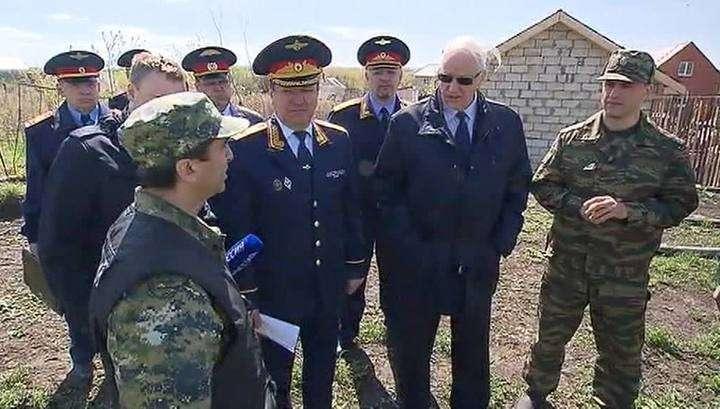 Александр Бастрыкин приехал на место убийства семьи Гошта