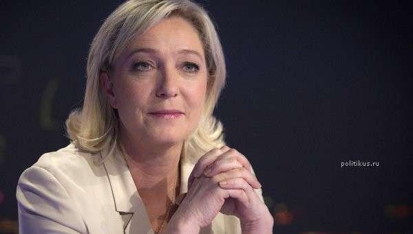 Ле Пен выступила за «демонтаж» Евросоюза