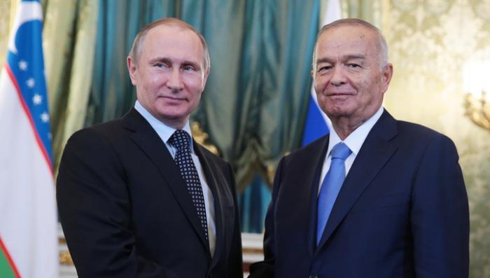 Энергетика, безопасность и фрукты: о чём договорились президенты Путин и Каримов