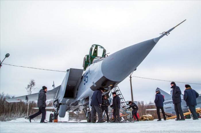 Модернизация истребителей МиГ-31 в Нижнем Новгороде