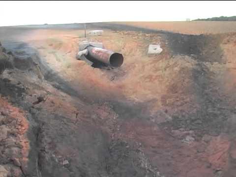ЧП на газопроводе под Полтавой: эксперты нашли следы взрывчатки
