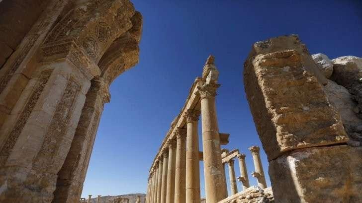 В Пальмире начались работы по восстановлению памятников древности