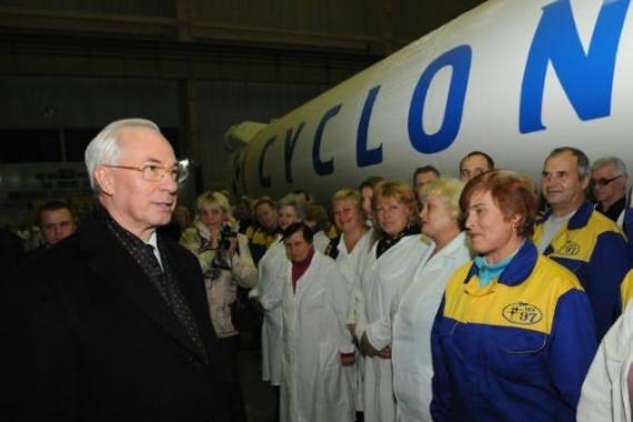 Николай Азаров: Космическая отрасль развалена, за 2 года после победы «евромайдана» Украина не запустила ни одного спутника