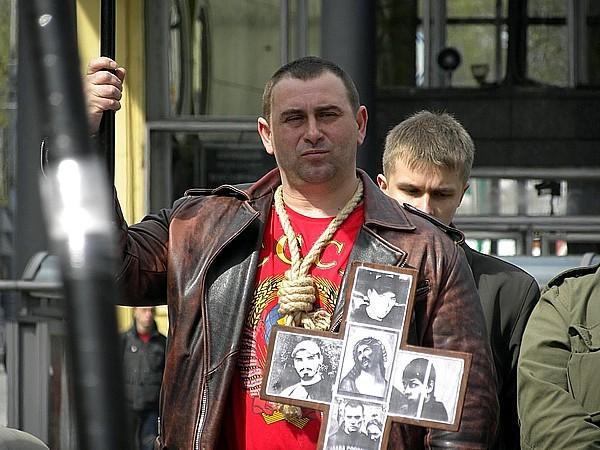 Лица московского майдана: Максим Кучеренко (Калашников)